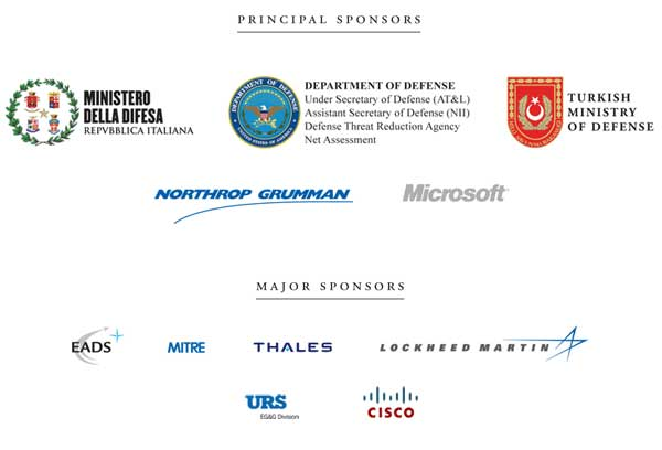 Collage of sponsor logos